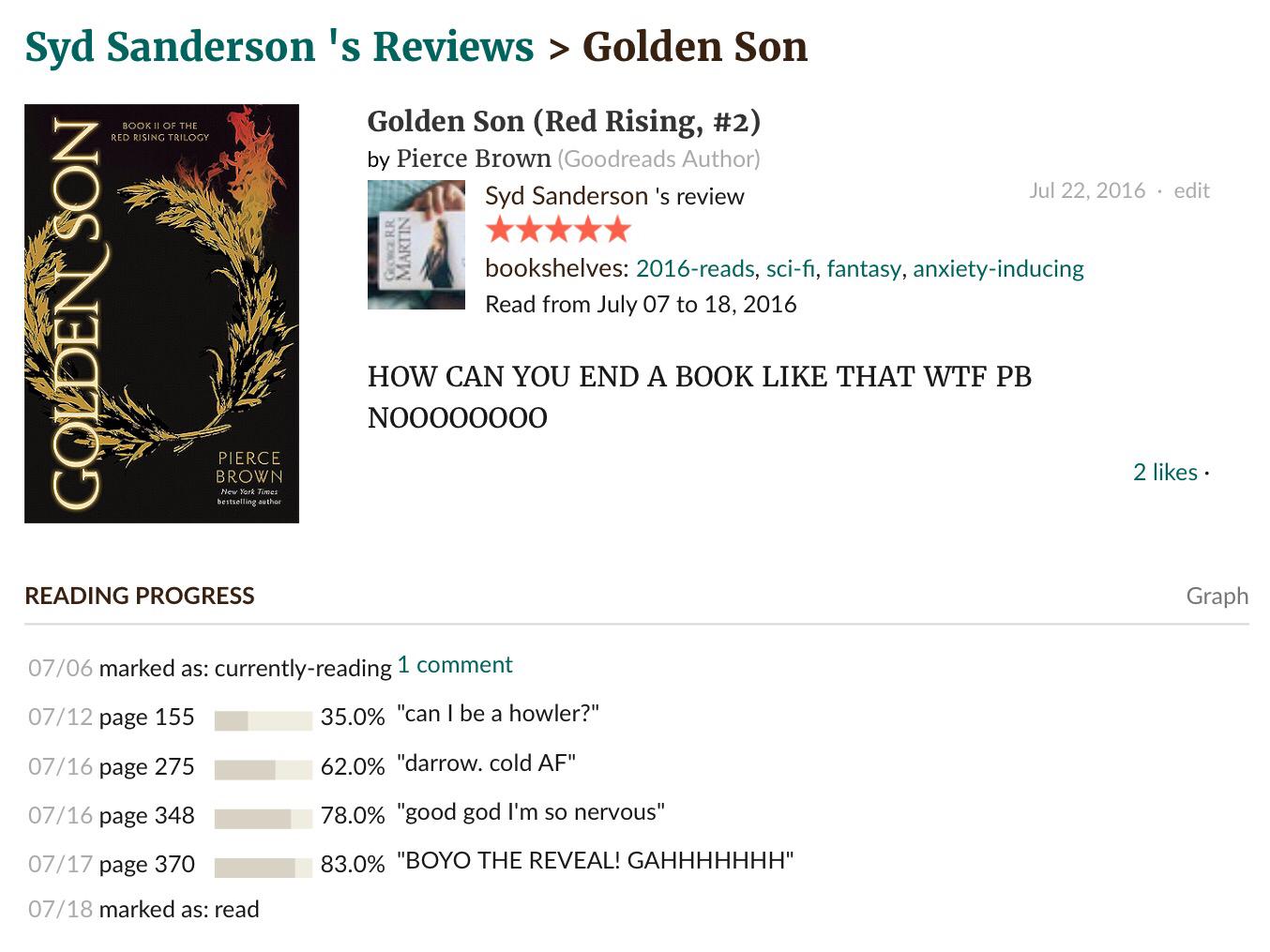 Golden Son – deertales