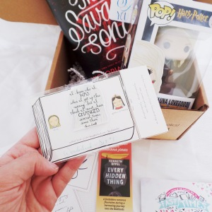 owlcrate july bookmark