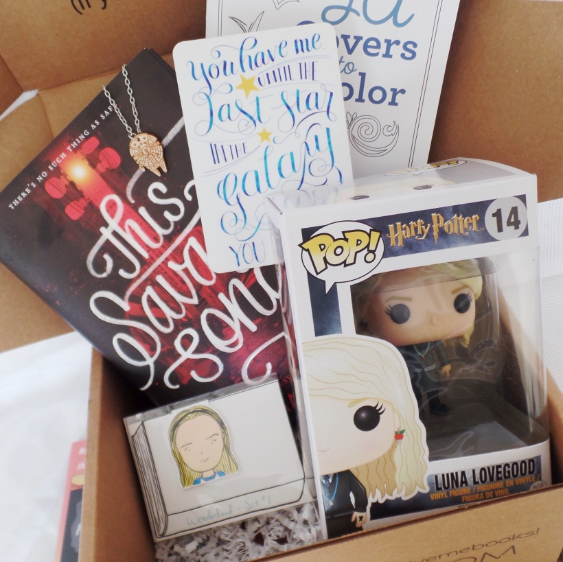 owlcrate unboxing july